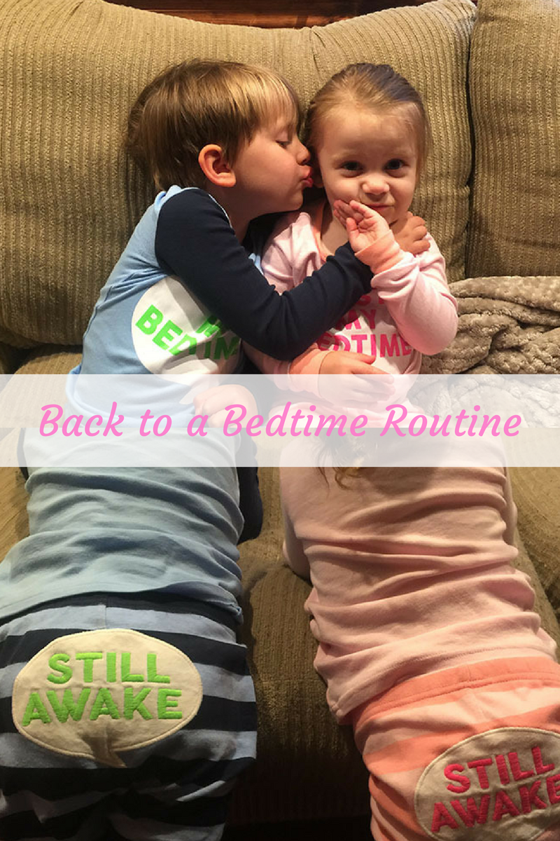 Get Back to a Bedtime Routine