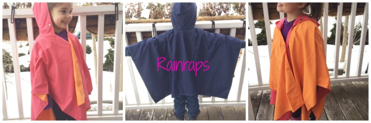 rainraps, portable travel rain covers