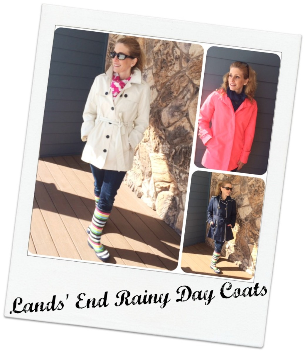 lands end raincoats