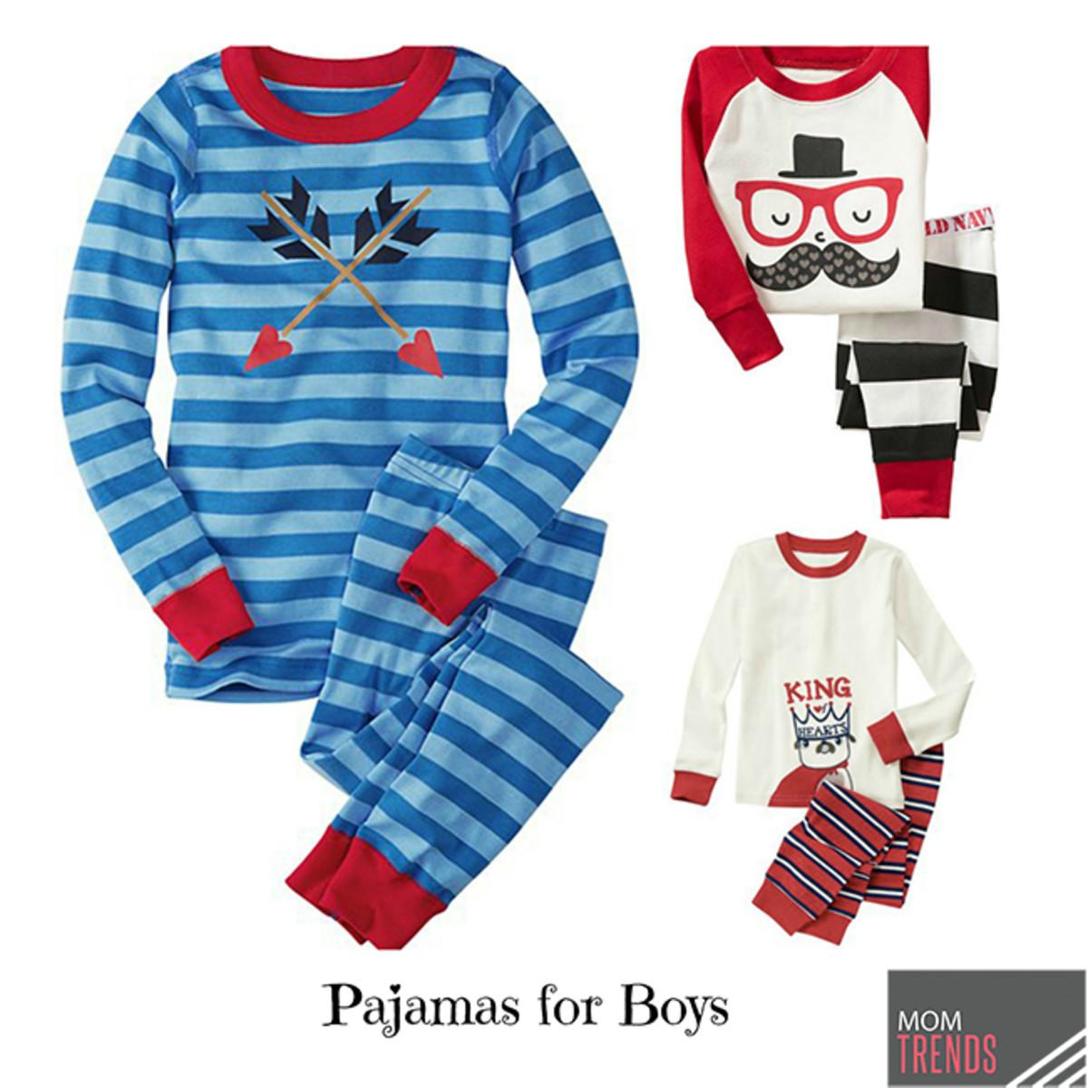 valentines day pajamas for boys - Valentines Day Pajamas