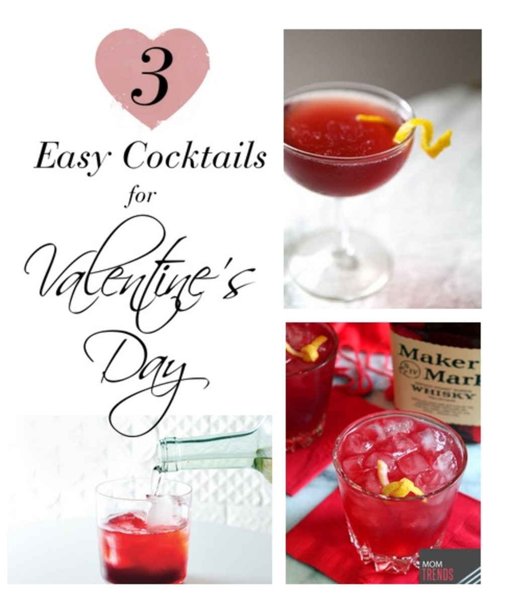 Valentine's Day Cocktails Main