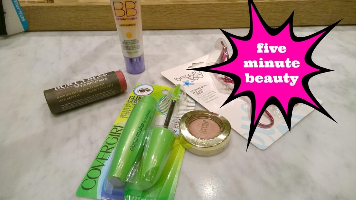 5-minute beauty tips