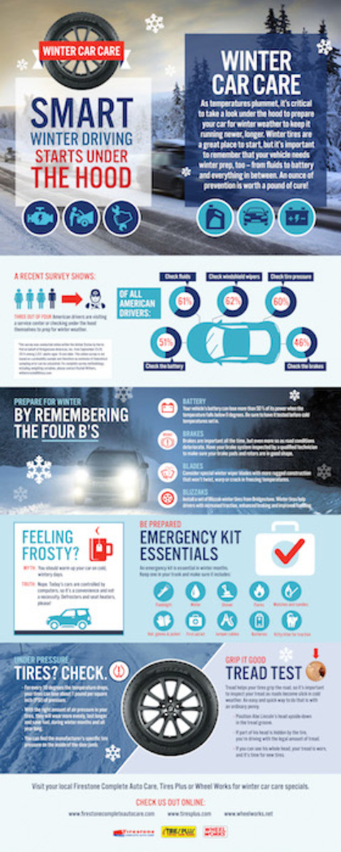 Winter Car Care Infographic