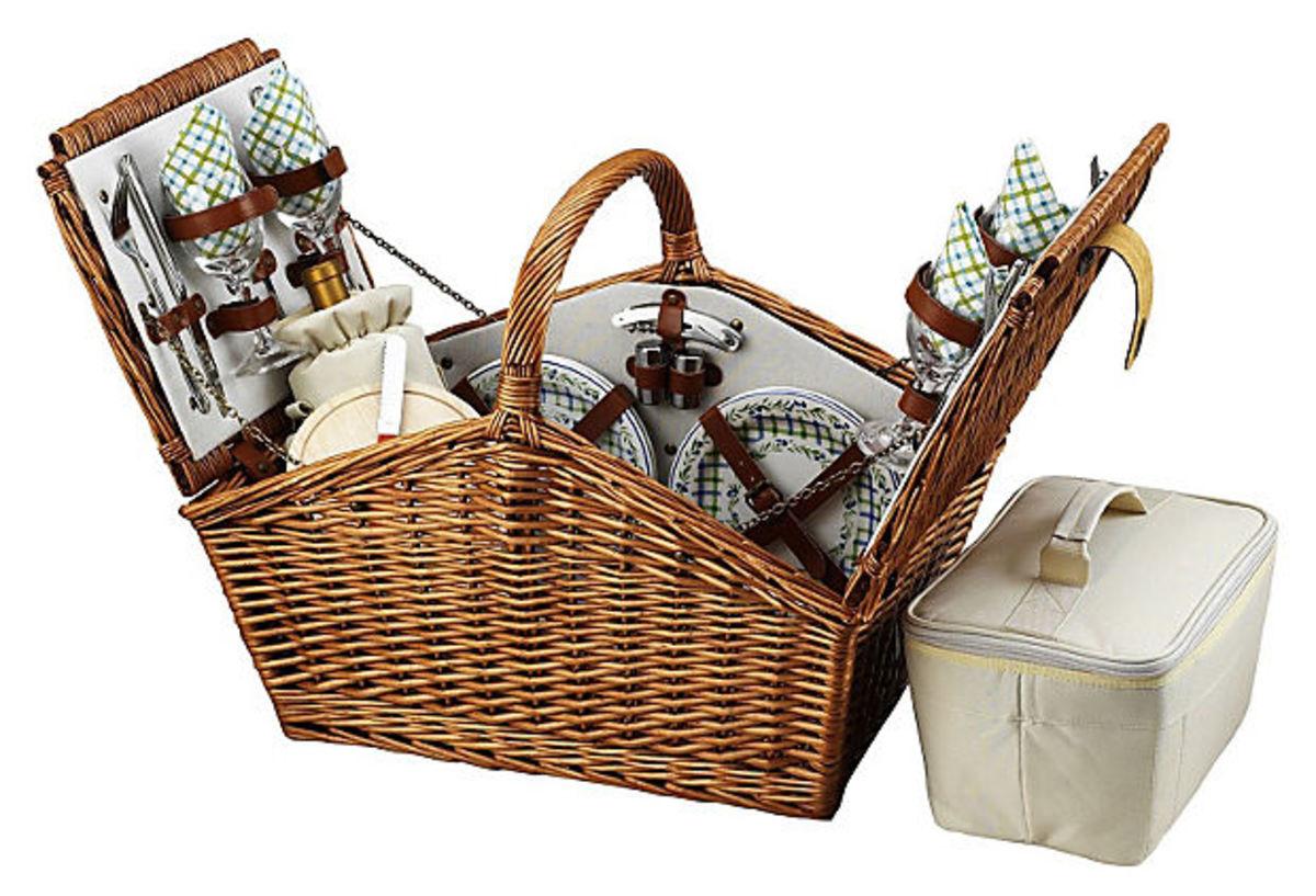 Huntsman Basket for 4 w_ Accessories