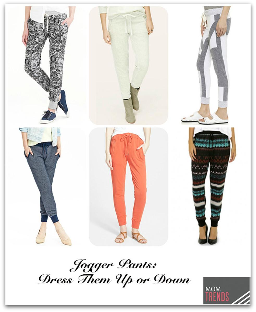 jogger pants dress up or down