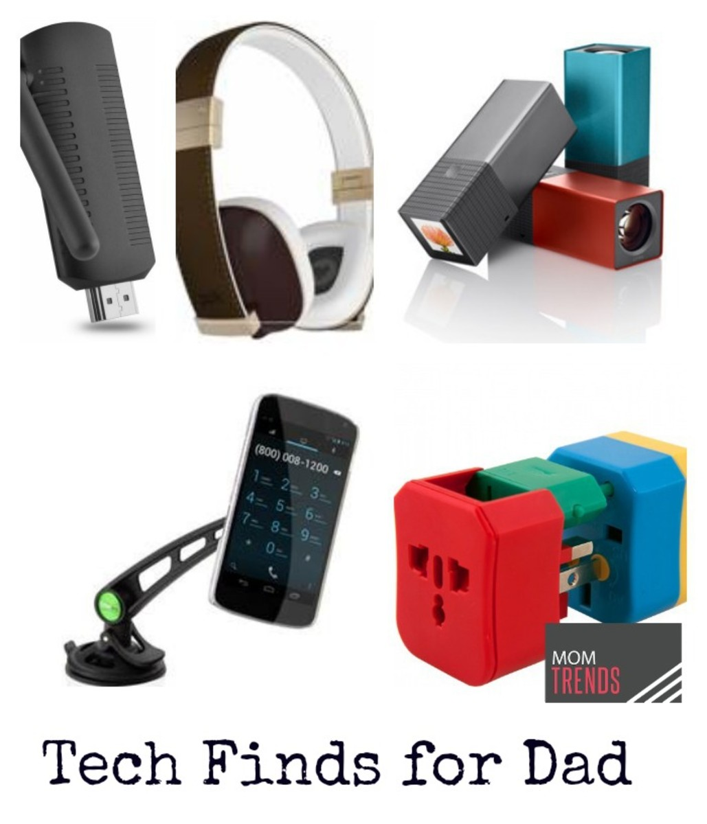Tech finds for Dad