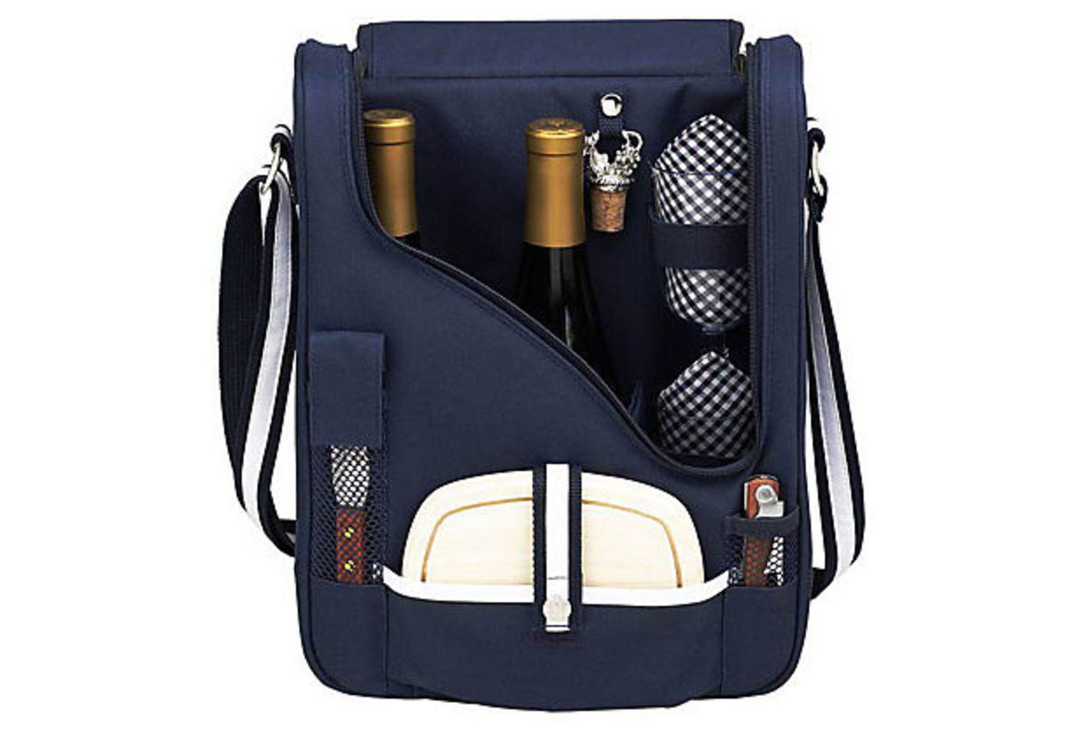 2 Bottle Wine and Cheese Cooler