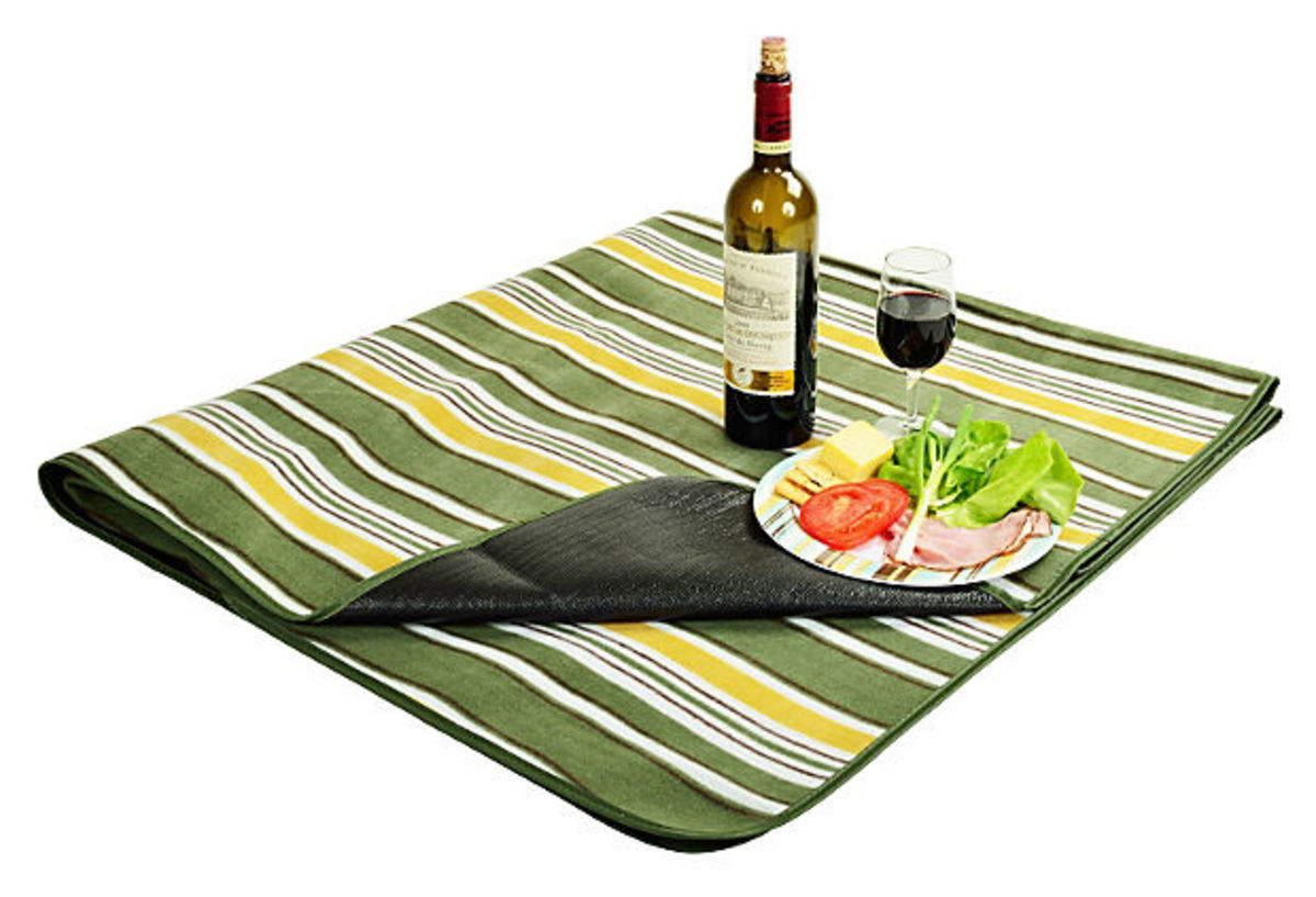 Striped Picnic Blanket