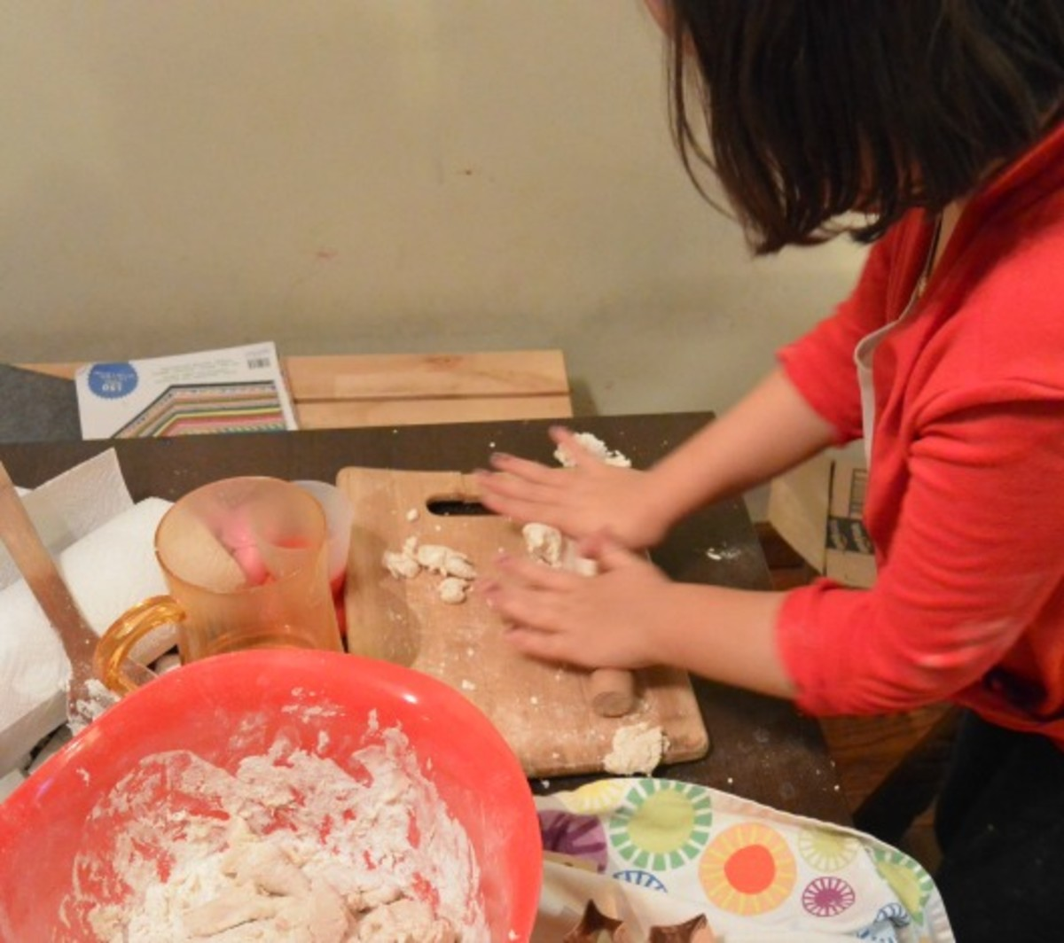 Salted dough