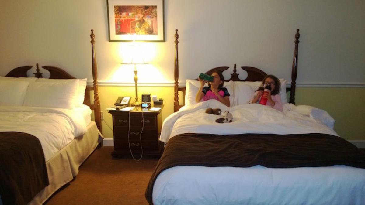 essex hotel room