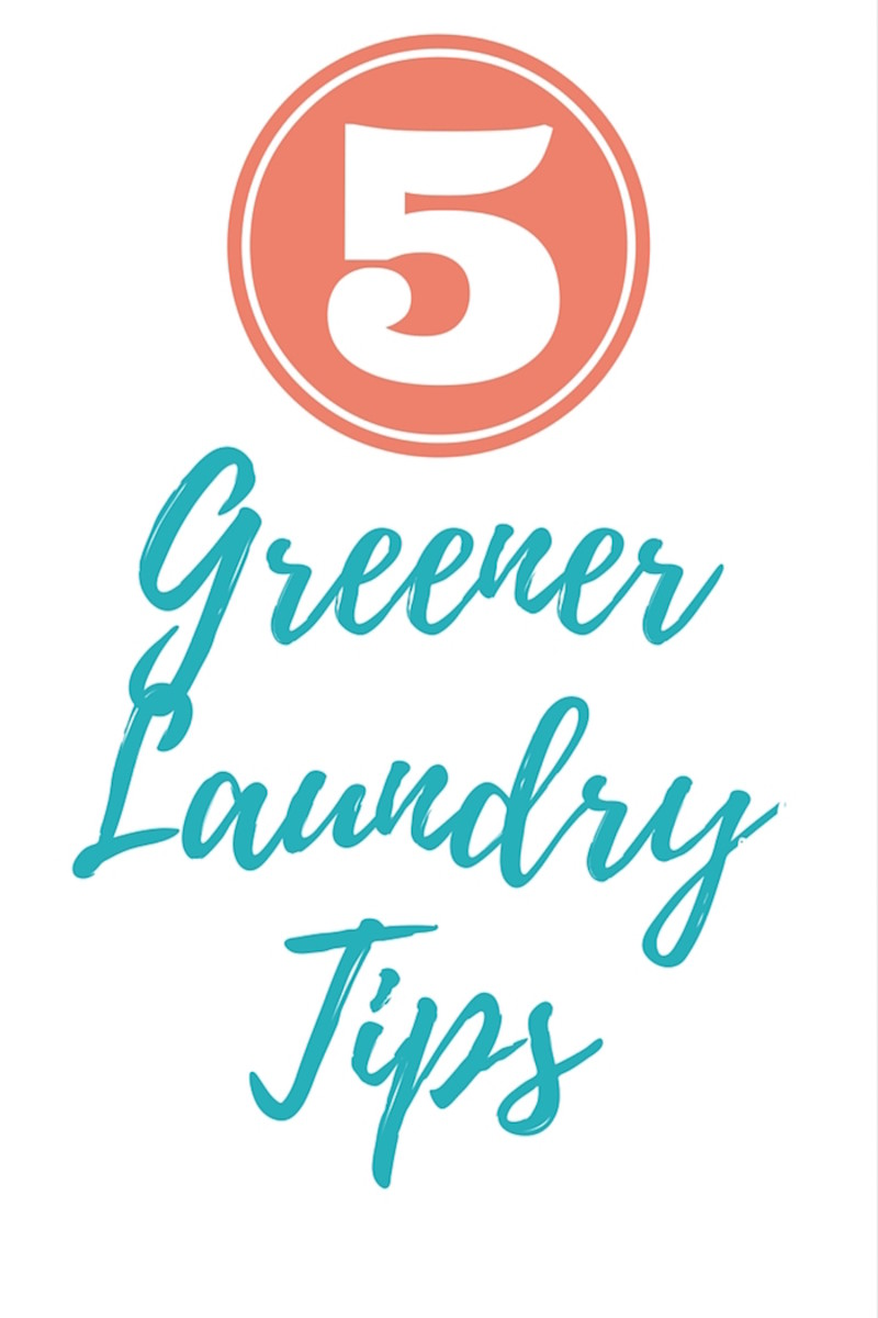 greener laundry tips