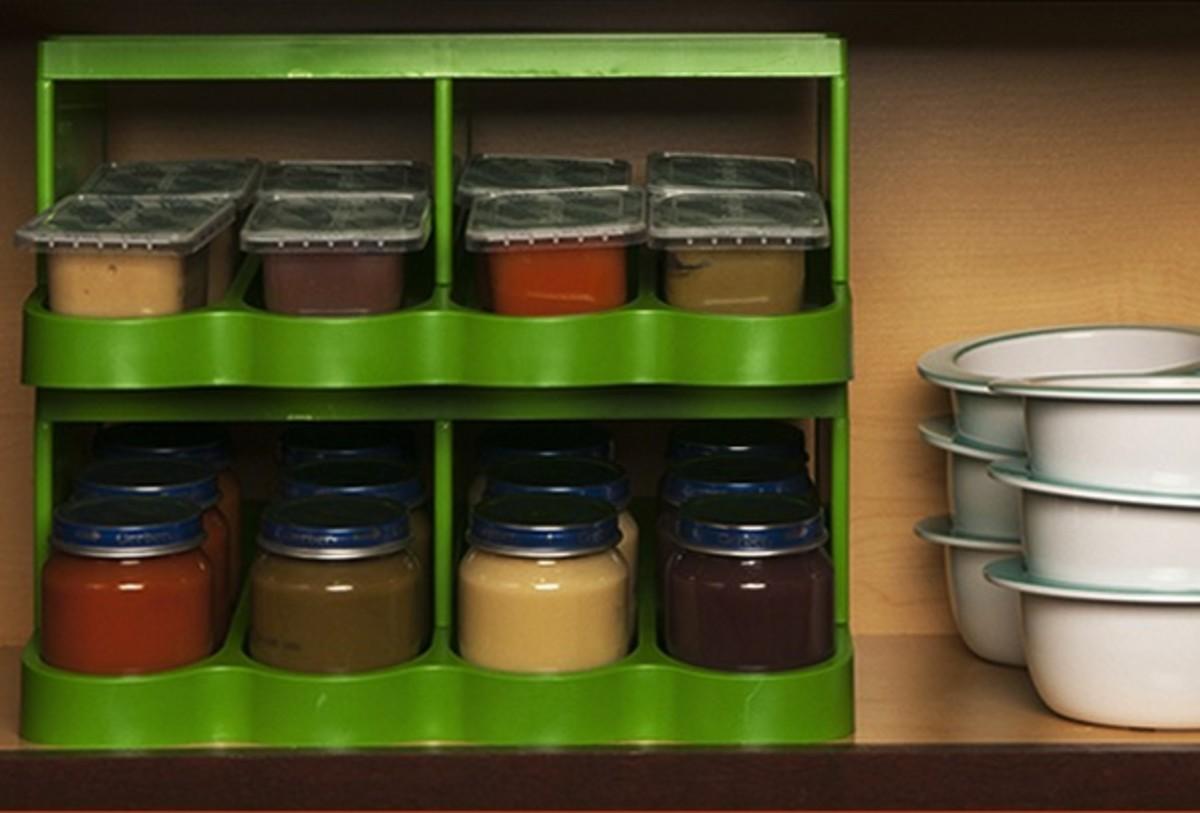 Universal Baby Food Jar Organizer