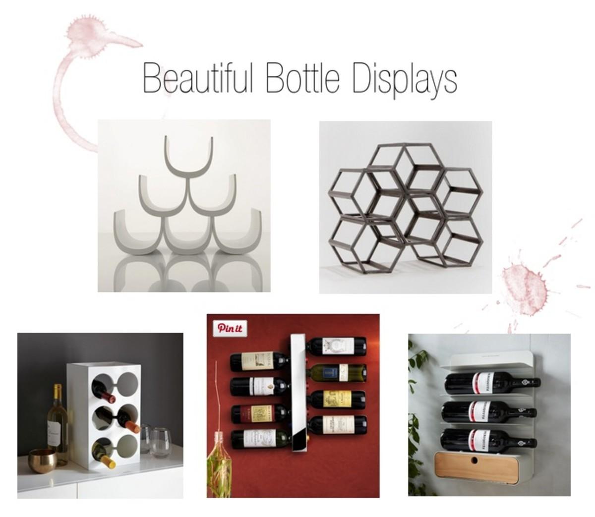 bottle displays
