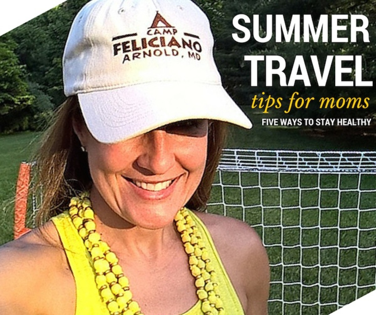 top summer travel health tips for moms