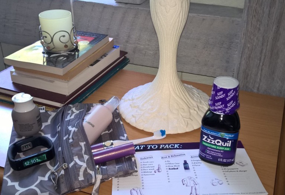 zzzquil bedside table