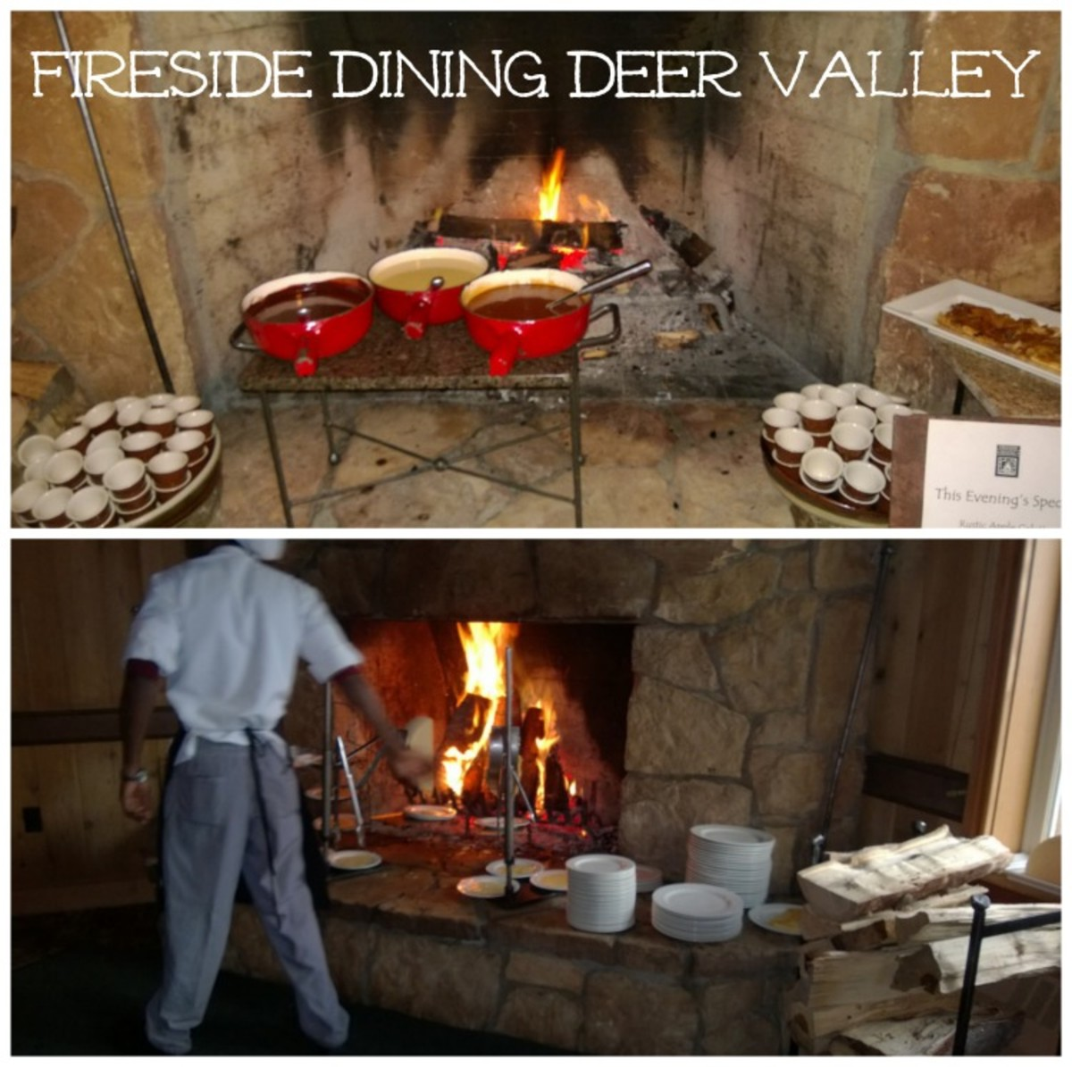 fireside dining deer valley