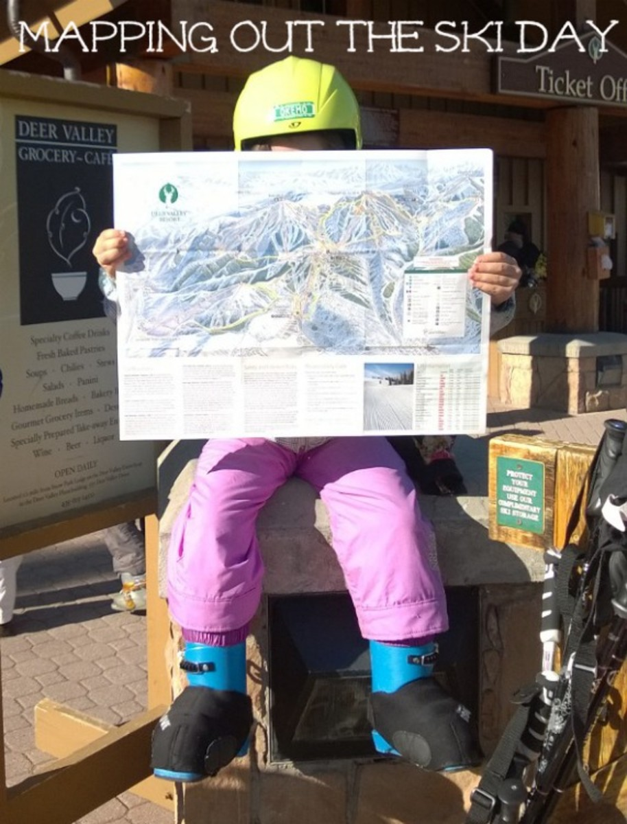 mapping out a day deer valley