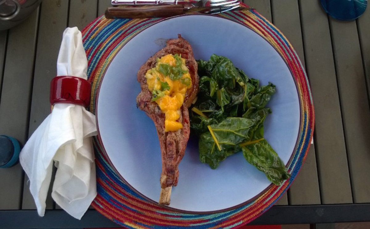 grilled veal chop recipe
