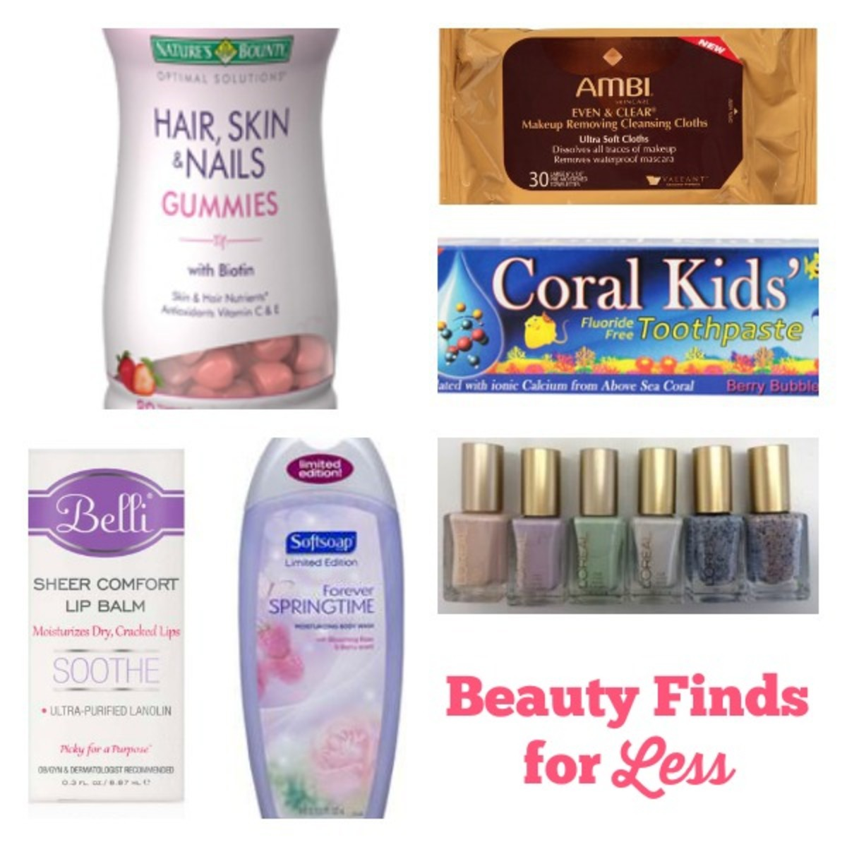 Beauty Finds for Less