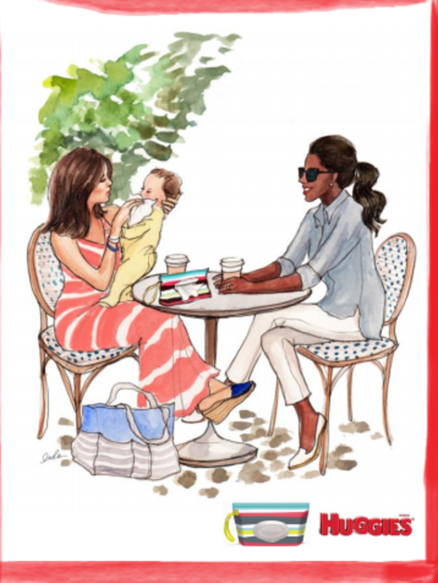 huggies clutch and clean, new mom fashion, expecting style, cool gear for moms