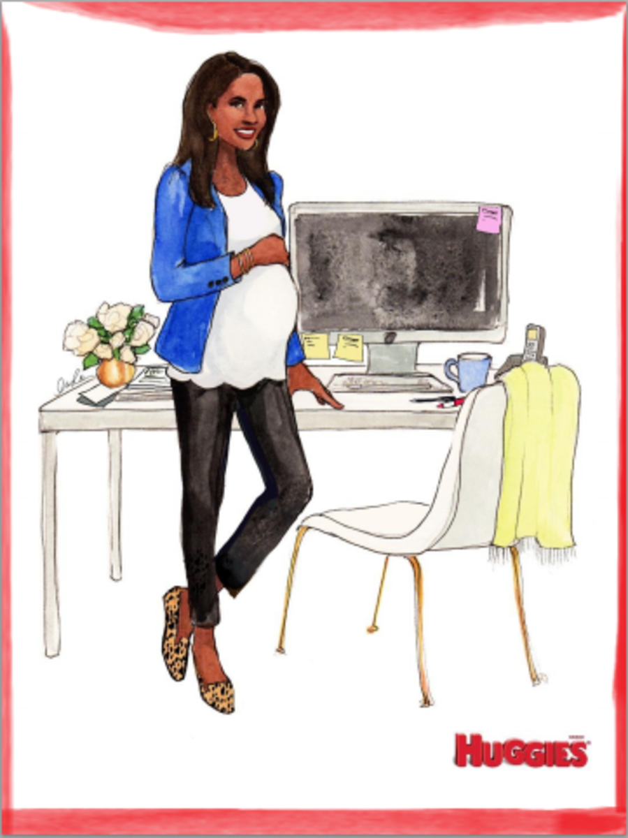 working mom style, office maternity lookds