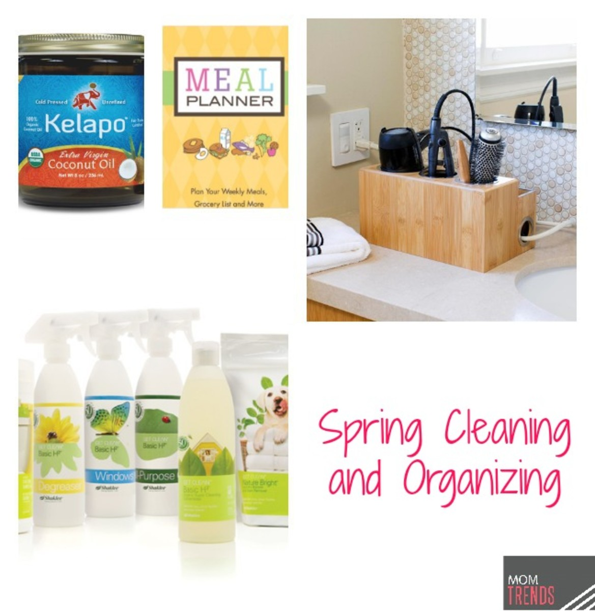 Spring cleaning and organizing for your home and body for House cleaning and organizing