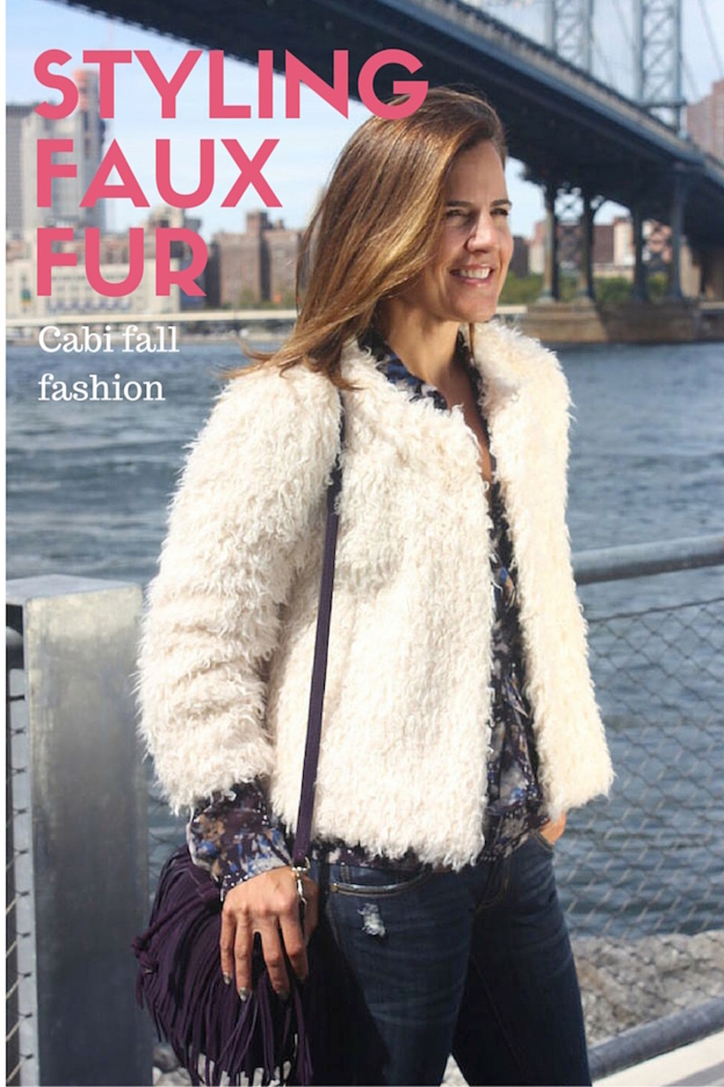 cabi furry furry jacket