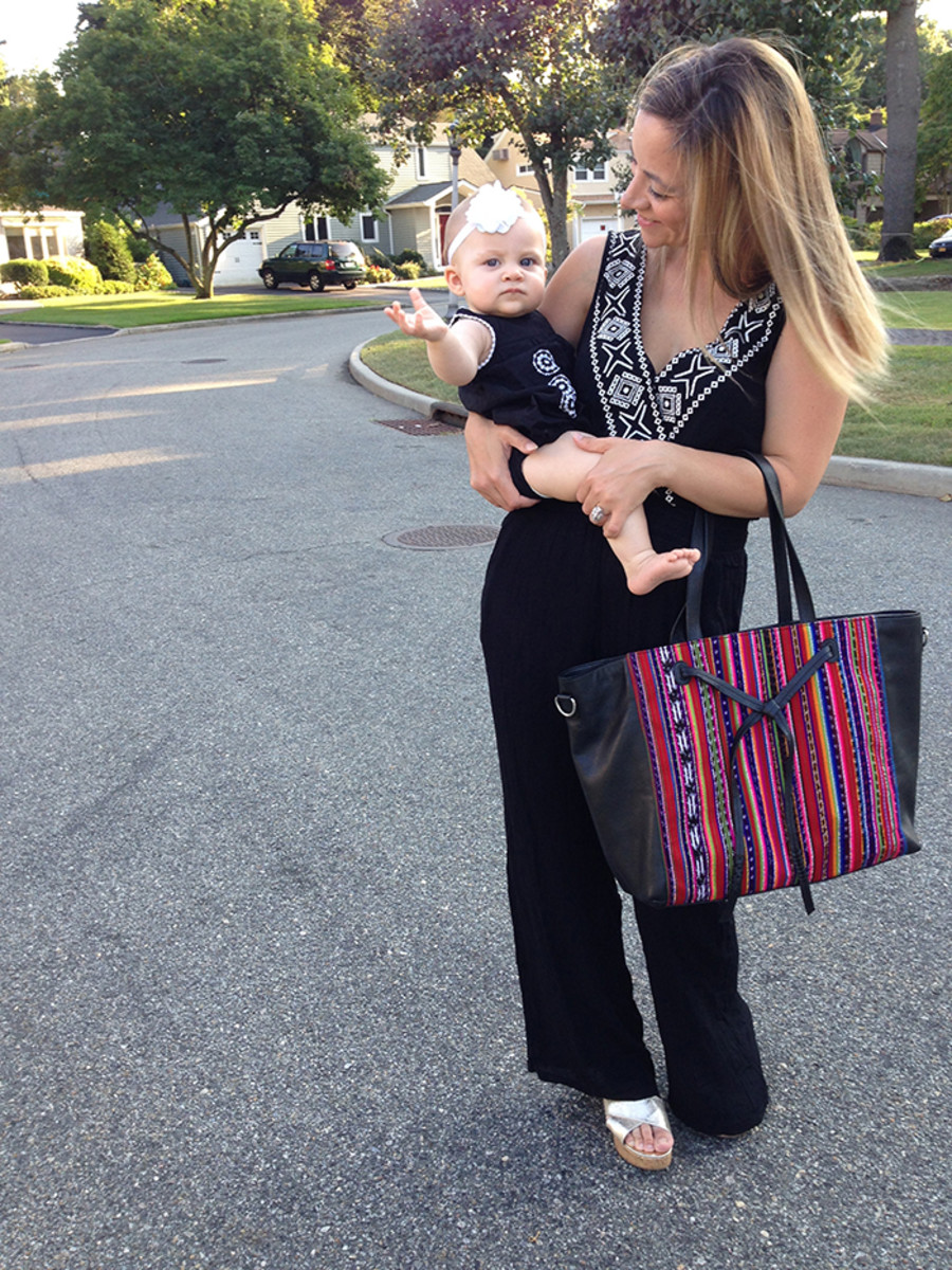 rebecca minkoff and honest diaper bag