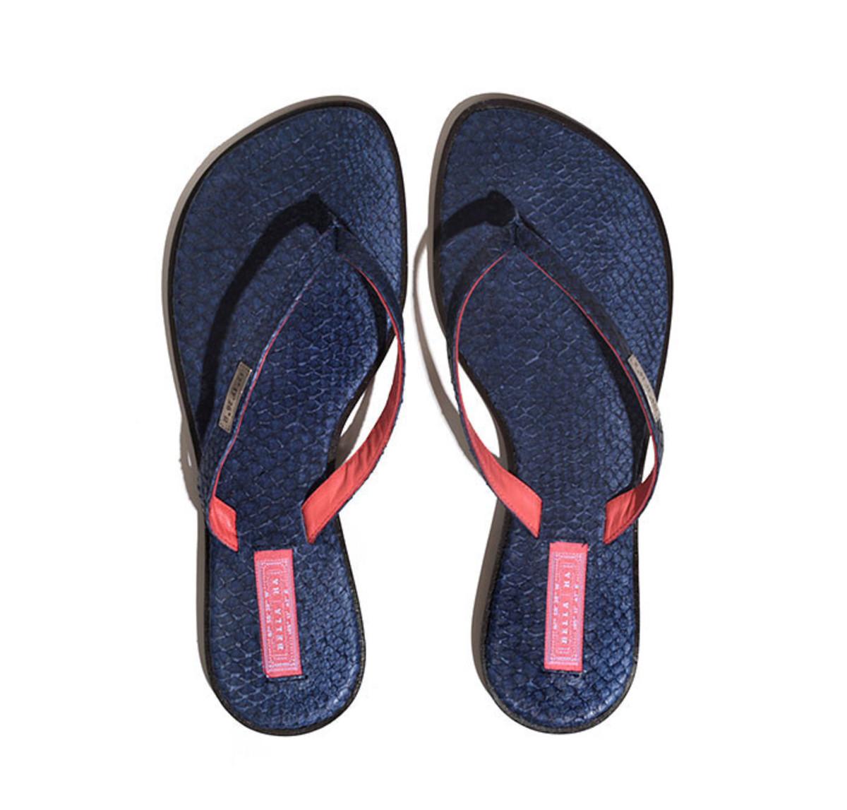 blue bella ha sandals