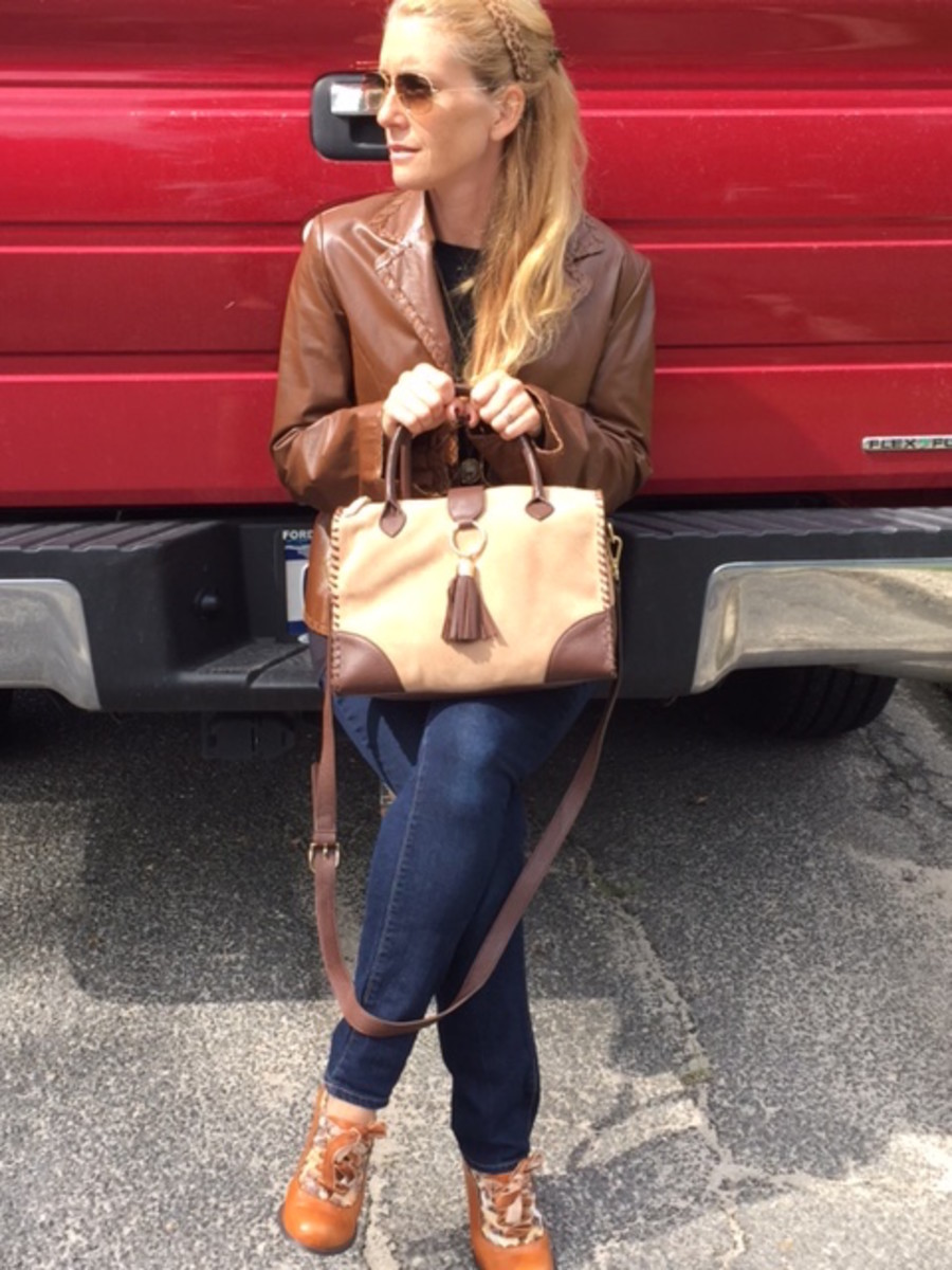 talbots, structured bags, doctors bag