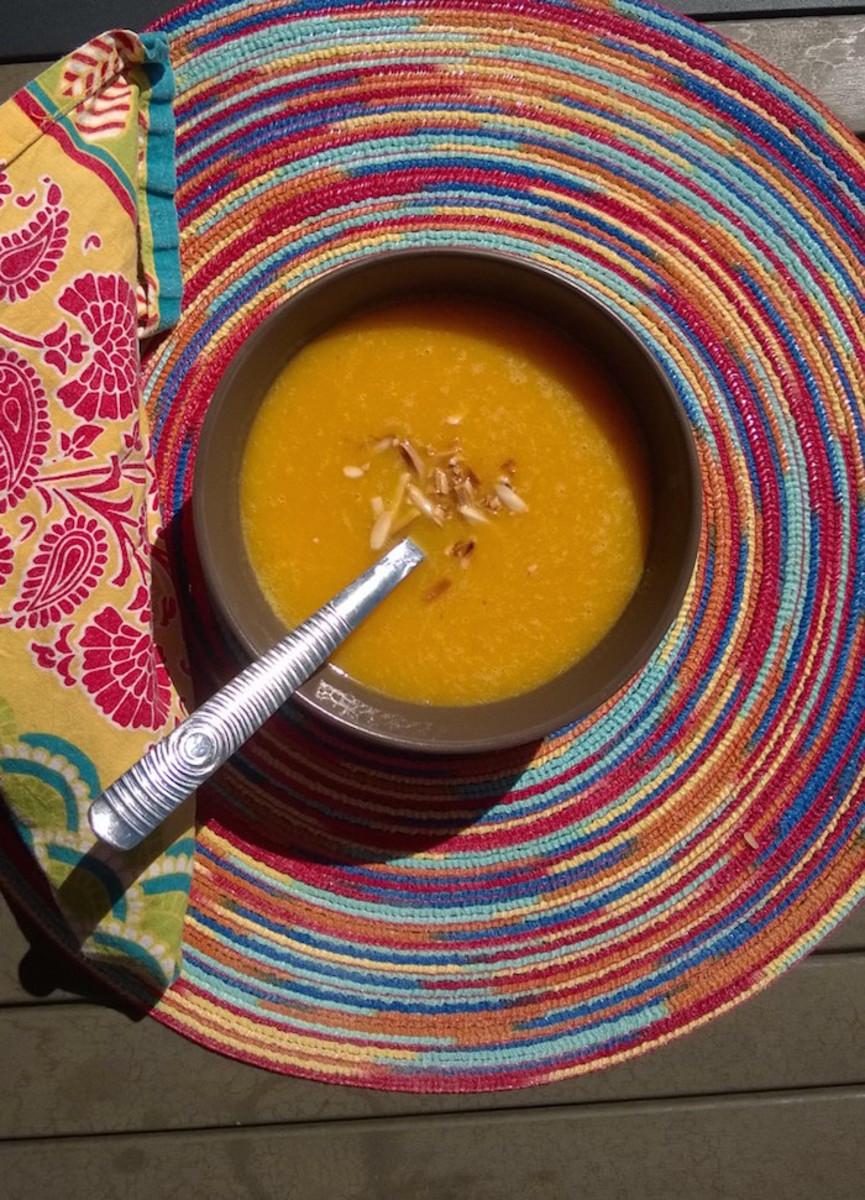 delish apple squash soup