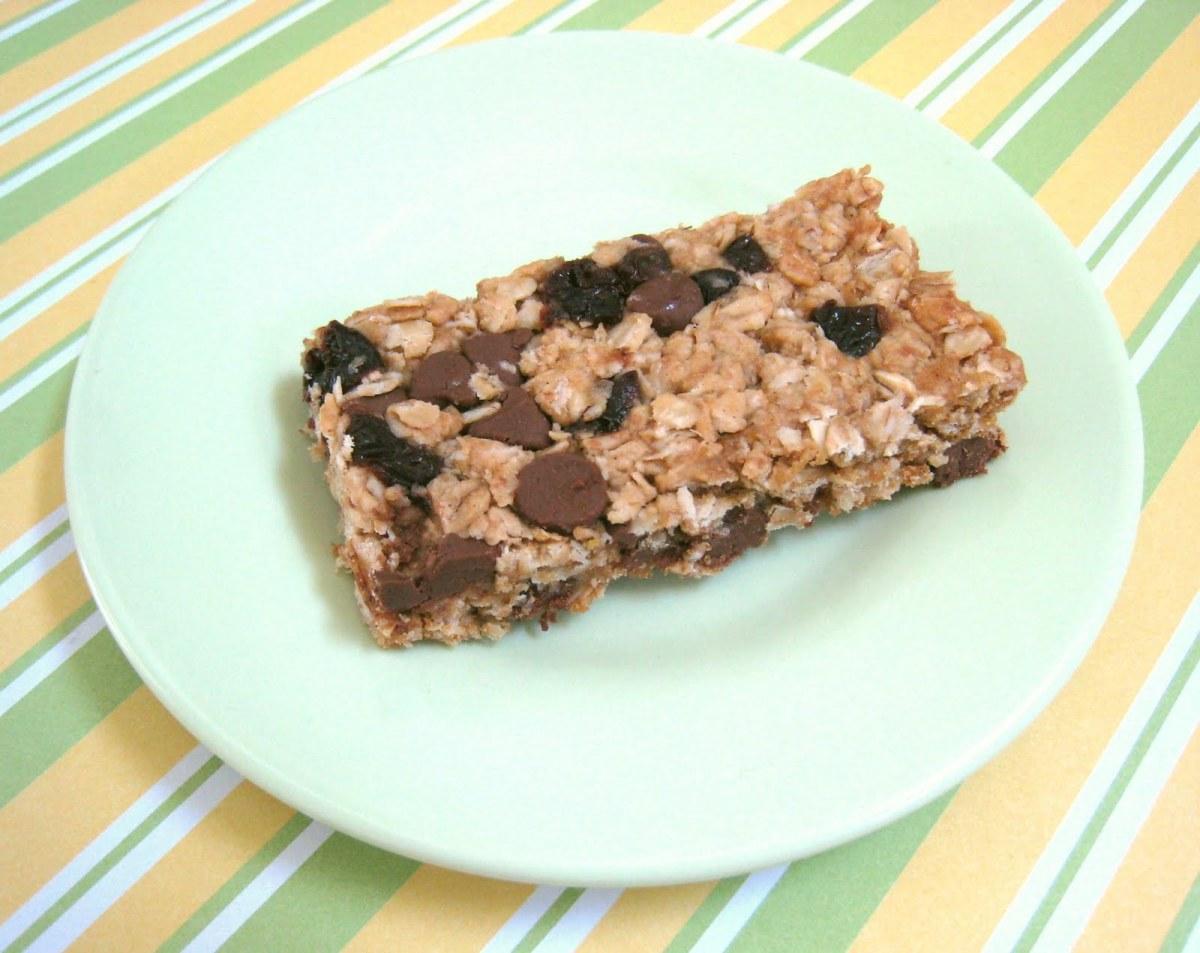 Friday Food: Homemade Granola Bars & Recipe Linky - MomTrendsMomTrends
