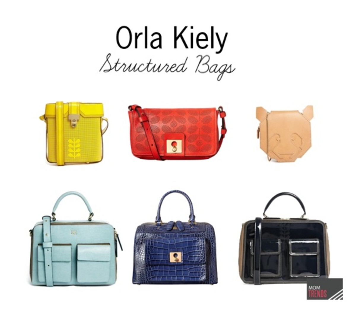 Orla Kiely Structured Bags