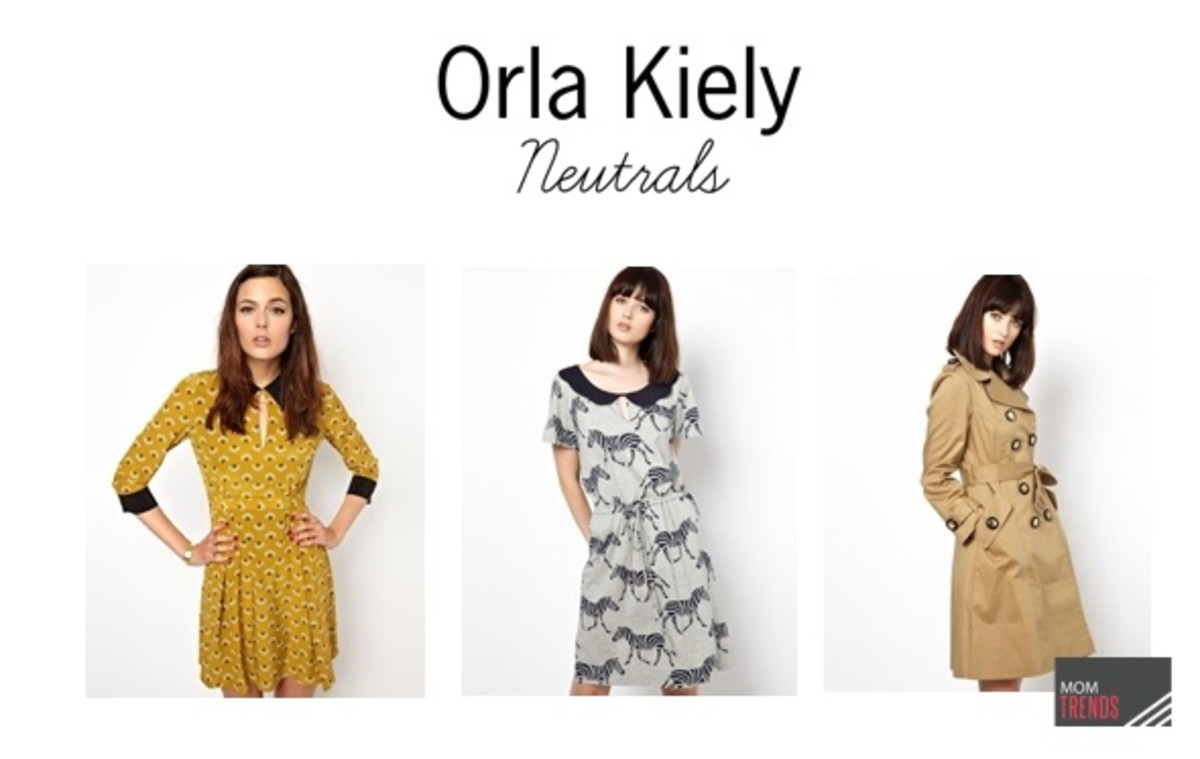 Orla Kiely dresses - neutrals