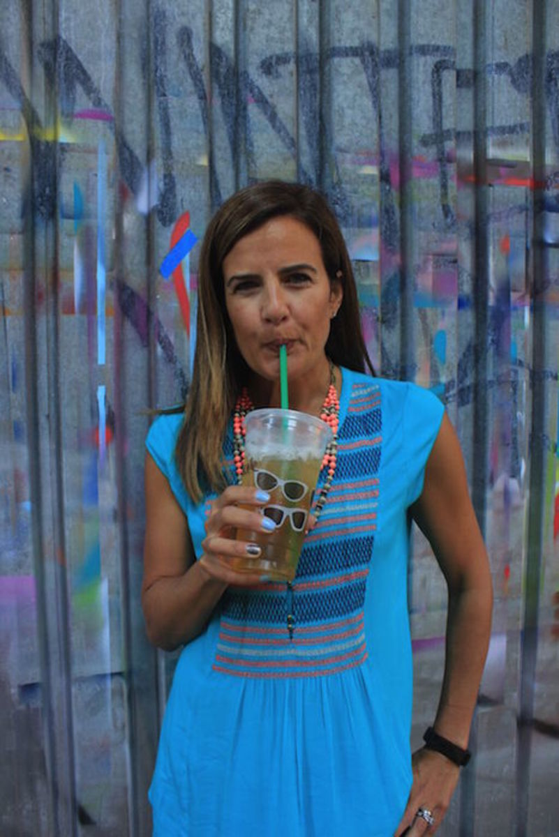 starbucks green tea drink for summer