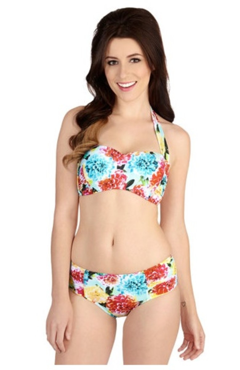 c3ff27ada3e81 swimsuits. Let's Glow to the Beach Swimsut Top from Modcloth