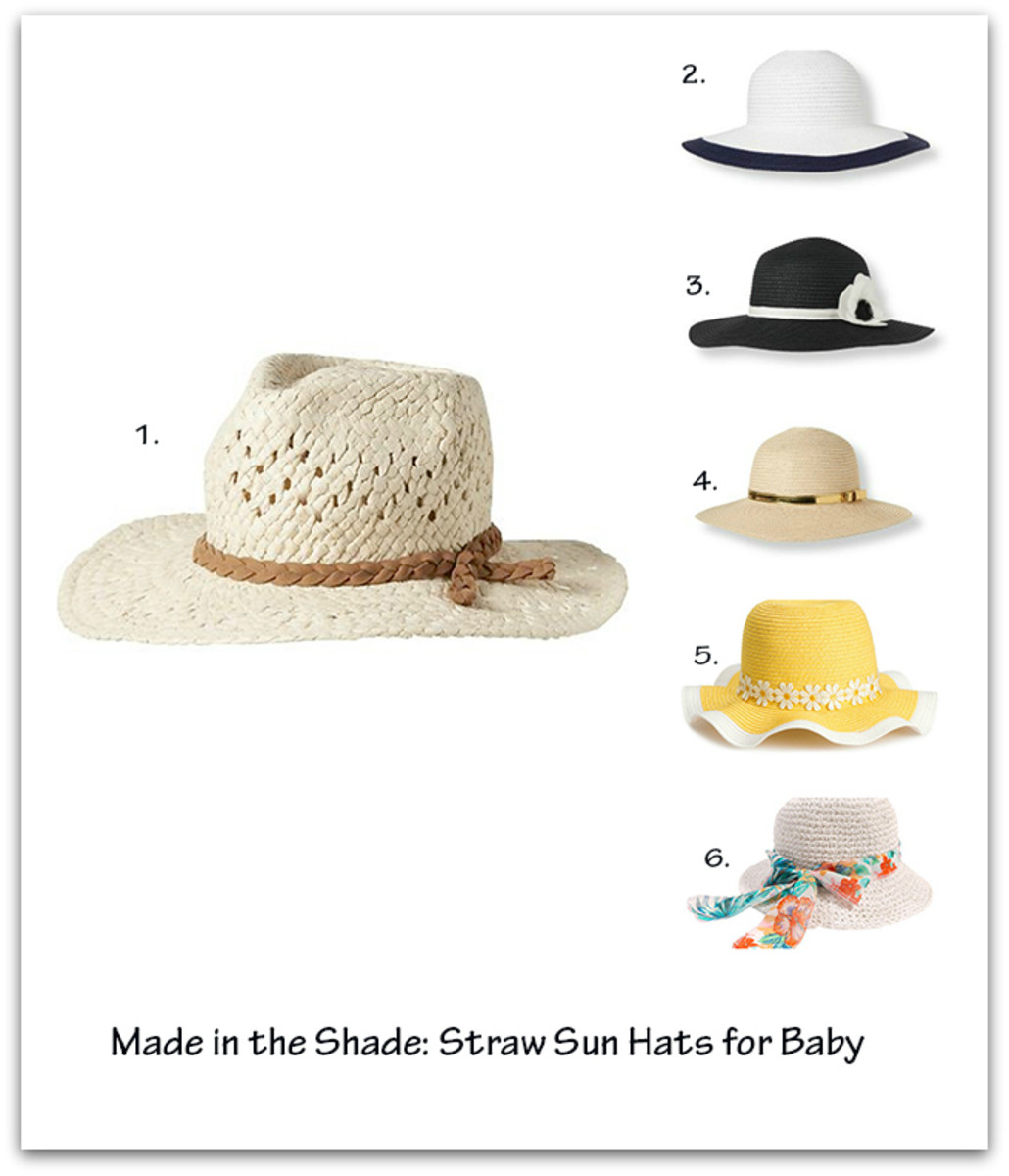 final baby straw hats