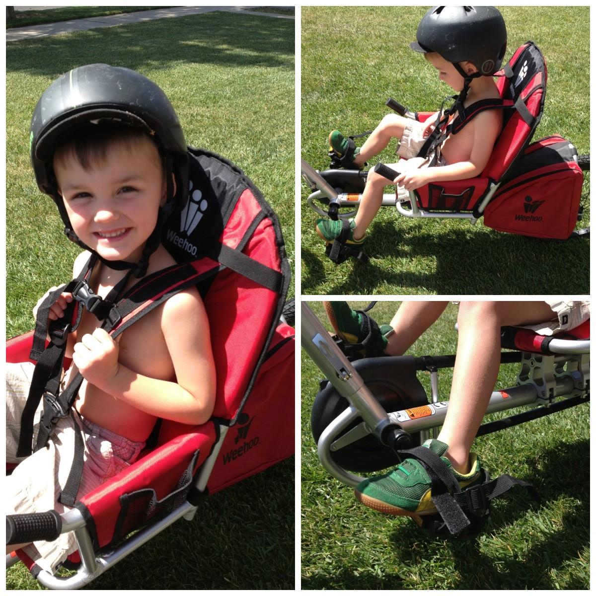Weehoo Bike trailer for kids