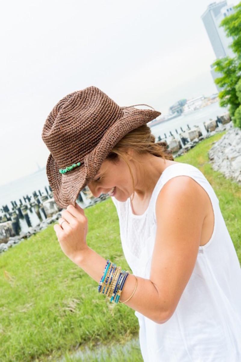 cool summer cowboy hat