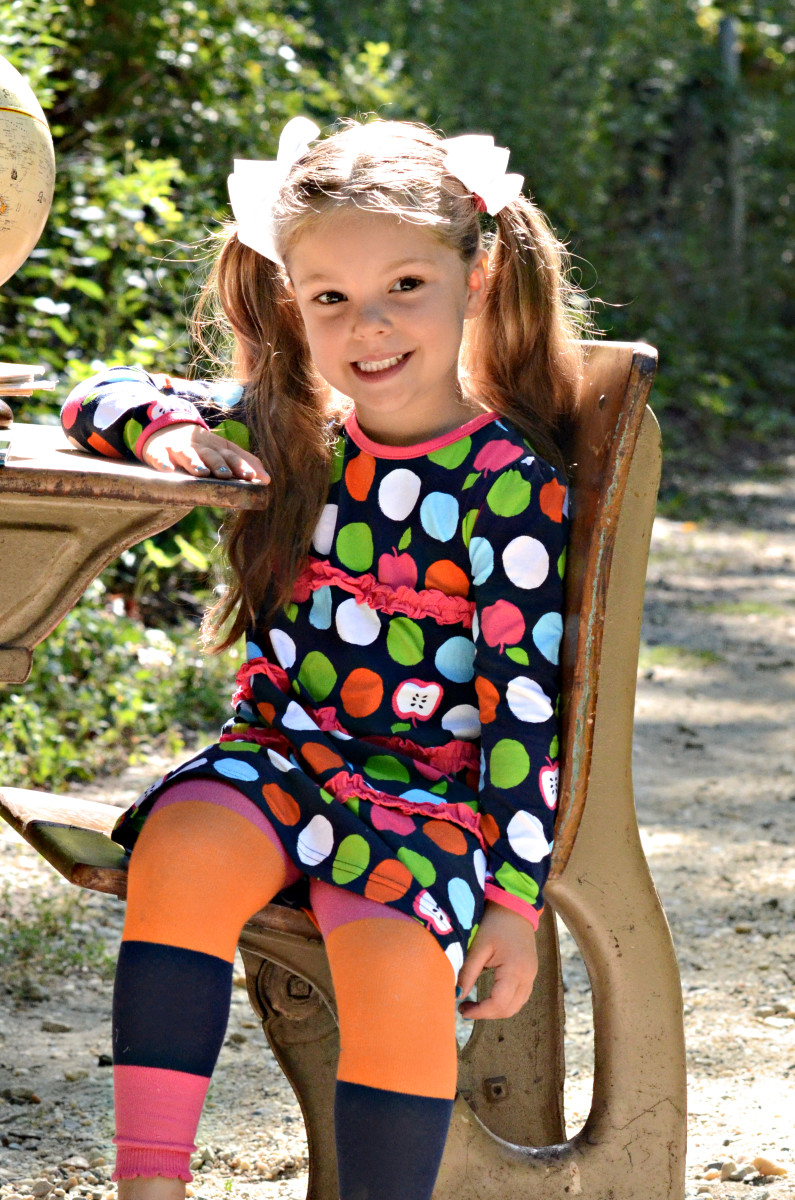 back to school. le top, girl clothing