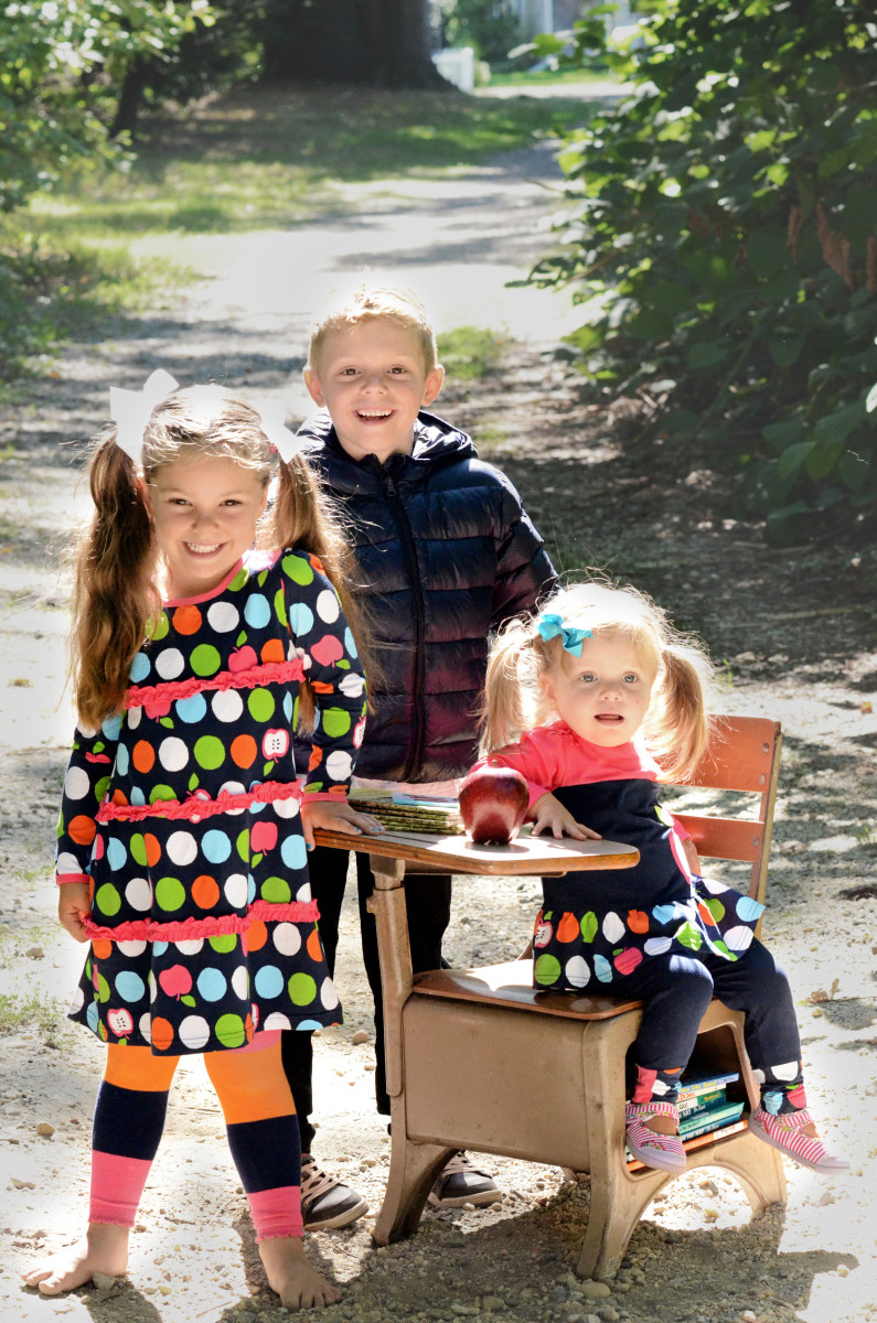 bts, back to school, le top, fashions for kids