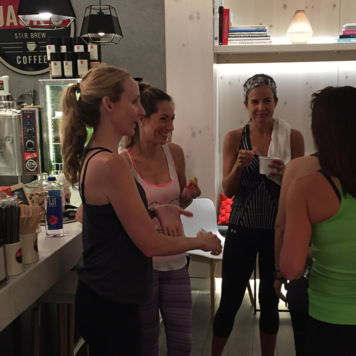 bloggers mingling