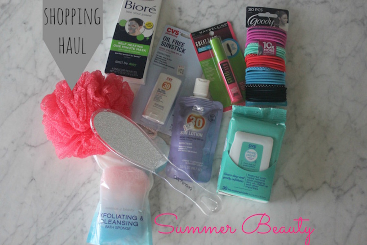 CVS beauty Haul