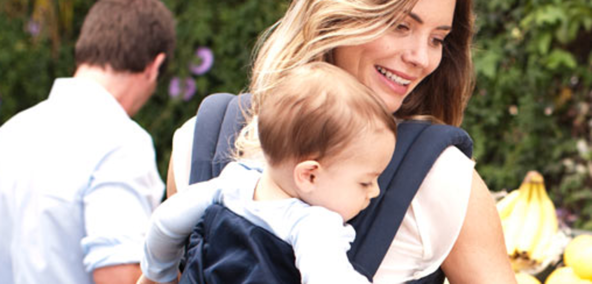 Mom Review And Demonstration Ergo Baby 360 Carrier