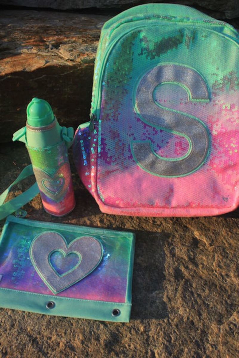 sparkle backpacks