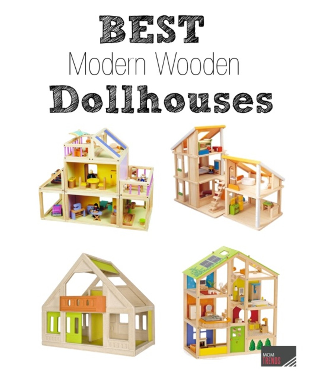 Modern Wooden Dollhouses