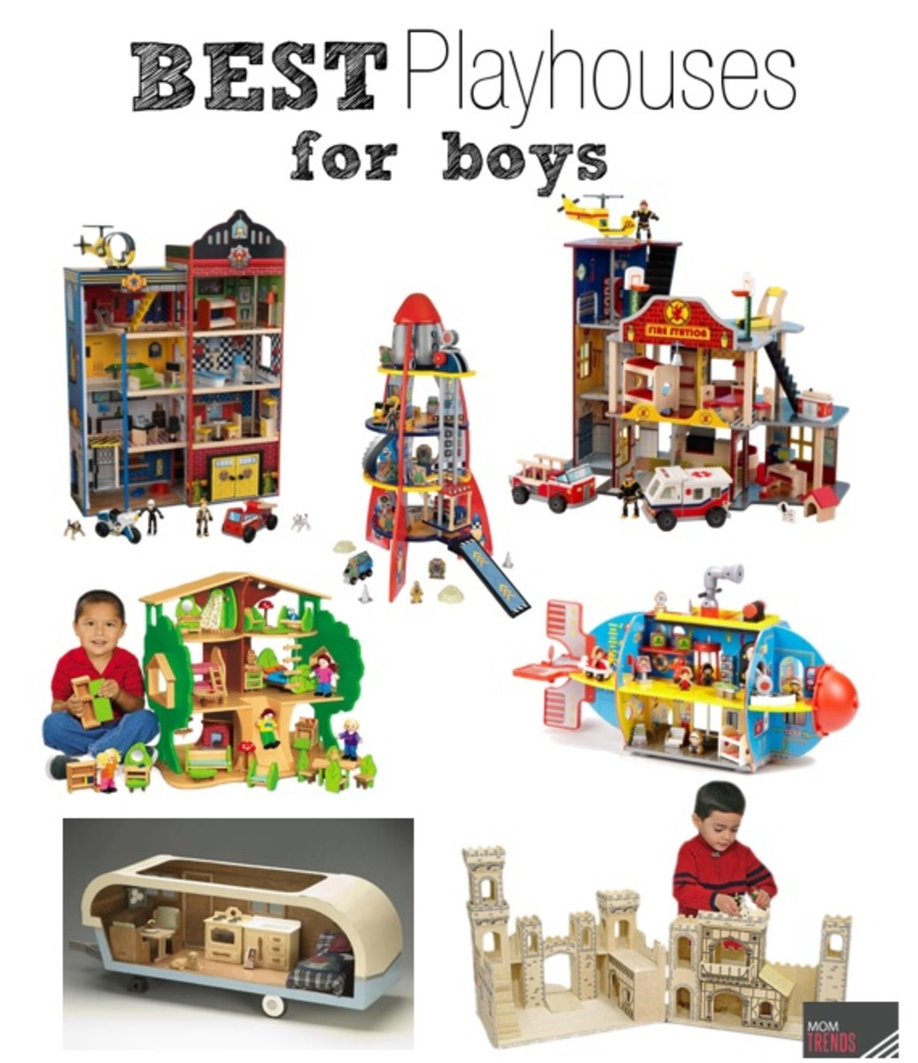 Best Playhouses for Boys