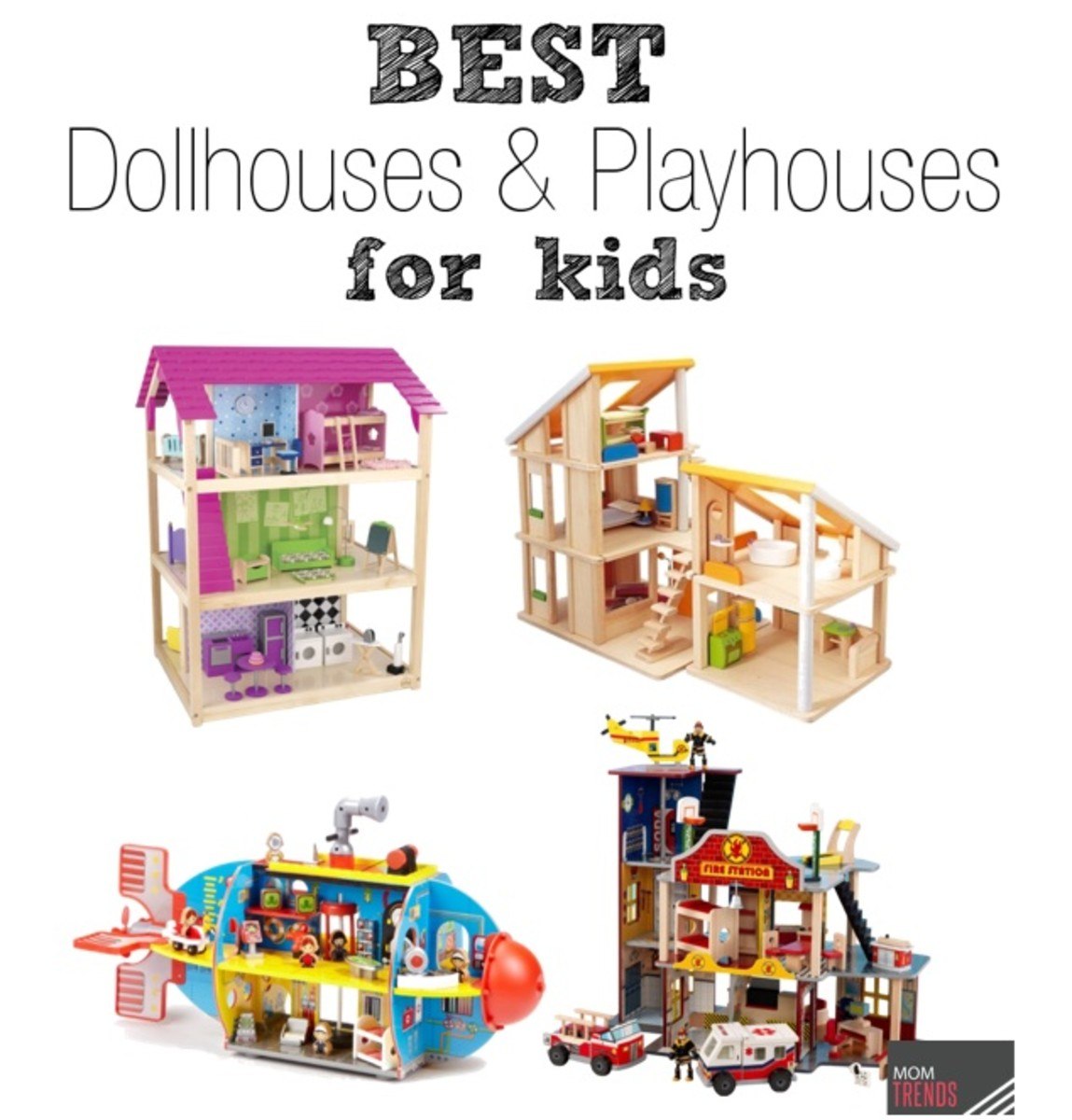 Best Dollhouses For Kids