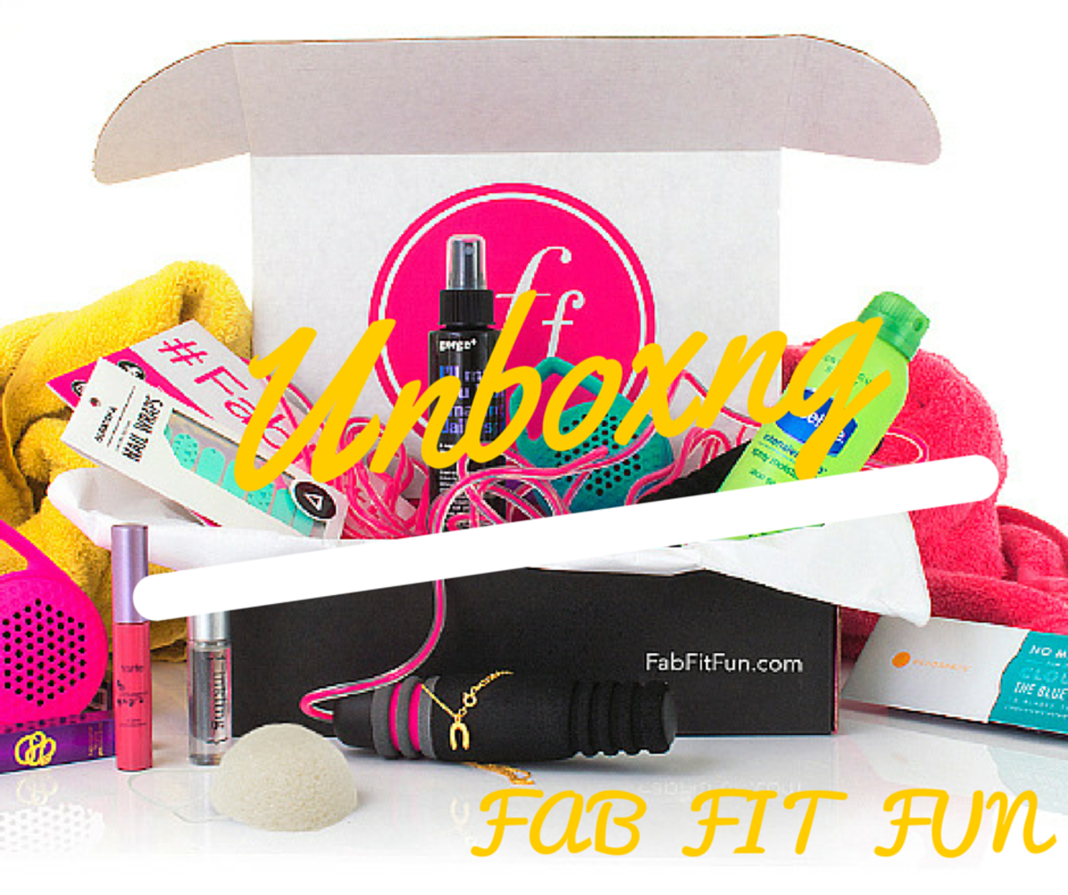 unboxing fab fit fun