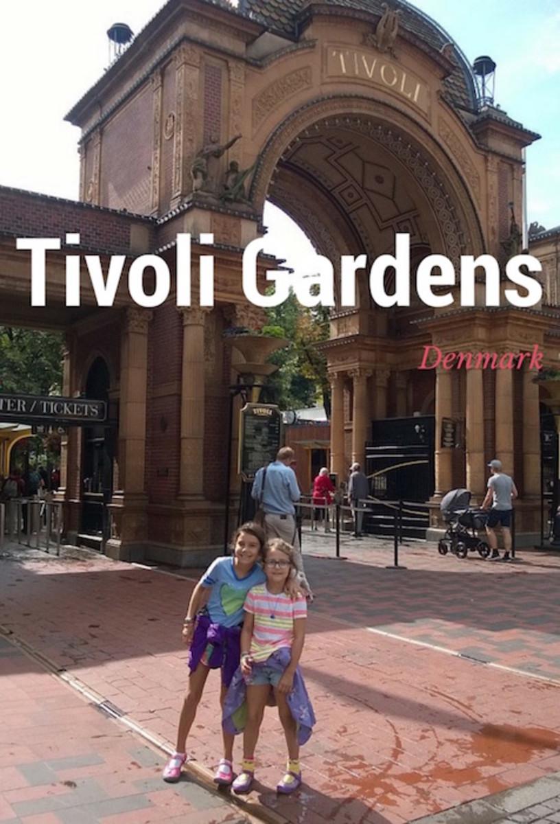 Visit to Tivoli Garden Denmark